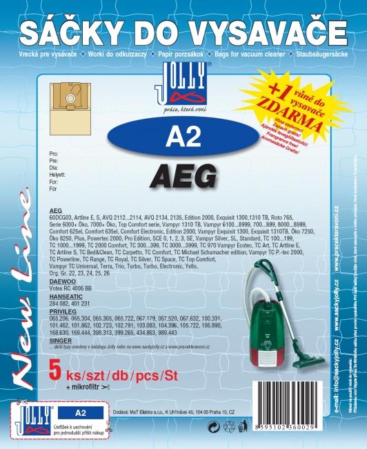 Sáčky do vysavačů AEG