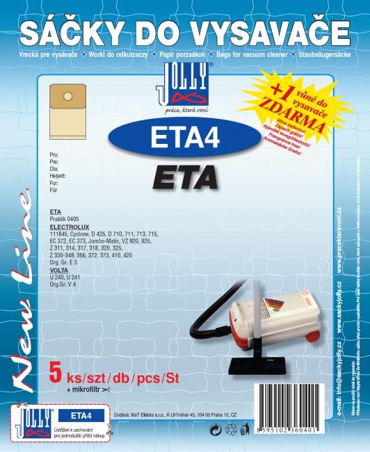 Sáčky do vysavačů Electrolux